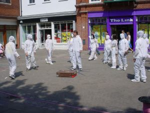 Mask-Street-Theatre-Show-in-Canterbury-with-Tom-from-TK-Arts-Nobody-becomes-Somebody