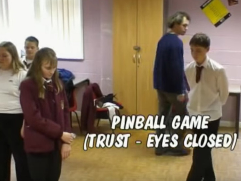 TK-Arts-photo-Drama-Workshop-for-young-people-pinball-game-trust-eyes-closed-web