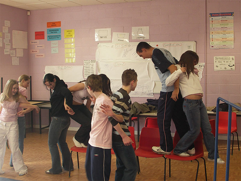 TK-Arts-secondary-school-drama-workshop-back-dancing-trust-game-web